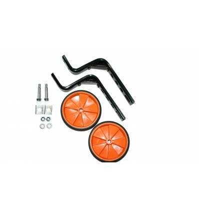 """Kółka rowerowe boczne podporowe czerwone 12"""",14"""",16"""""""