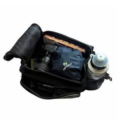 Torba Nexelo na bagażnik rowerowy, z paskiem, materiał 300D