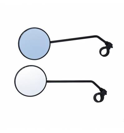 Lusterka rowerowe 2 szt, okrągłe
