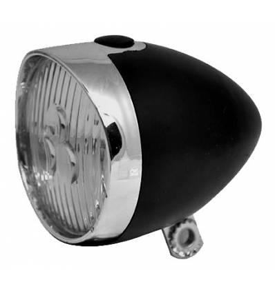 Lampa Rowerowa Przód 3 Led Retro Na Baterie Holender Info