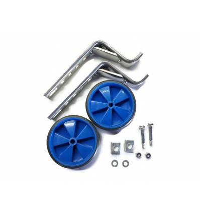 Kółka rowerowe boczne podporowe niebieskie 12'' - 20''