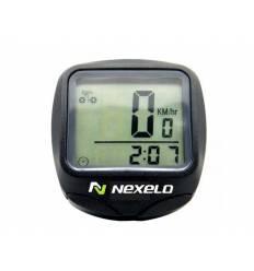 Licznik rowerowy Nexelo C12, czarny