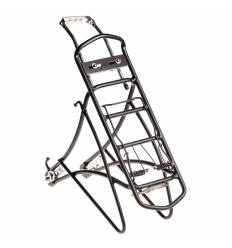 Bagażnik rowerowy 24-28'' czarny aluminiowy