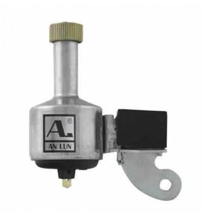 Prądnica, dynamo lewe aluminium srebrne