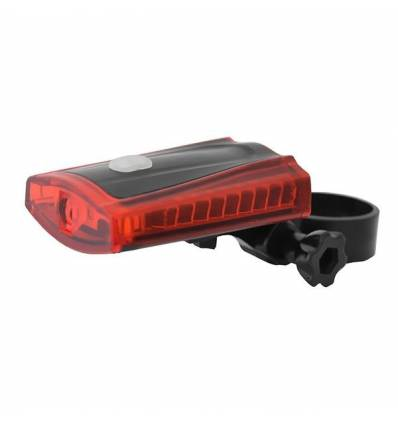 Lampa bateryjna tylna Nexelo, 3 LED, 2 funkcje