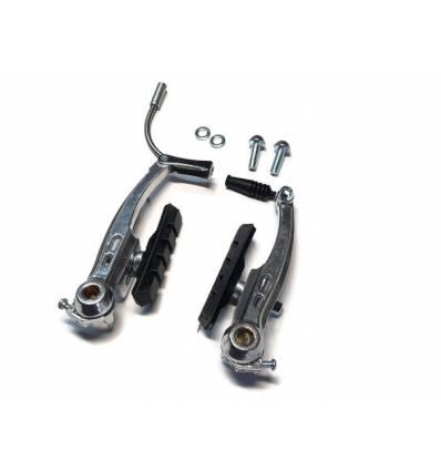 Szczęki V-Brake 110 mm srebrne, aluminium