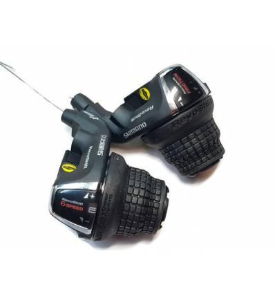 Manetki zmiany biegów Shimano RevoShift 3x6