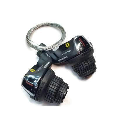 Manetki zmiany biegów Shimano RevoShift 3x7