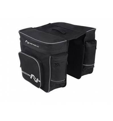 Torba, sakwa rowerowa na bagażnik 30L Nexelo, wzmacniany materiał