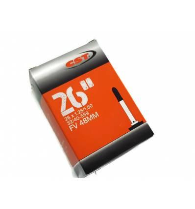 Dętka rowerowa CST 26 x 1.25 - 1.50 FV48 mm