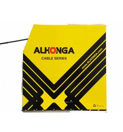 Pancerz przerzutki Alhonga czarny 4mm