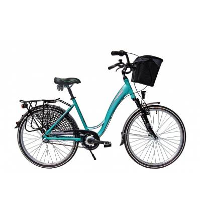 Rower miejski Majdller Madera 8.3 // 28'' Nexus 3, prądnica