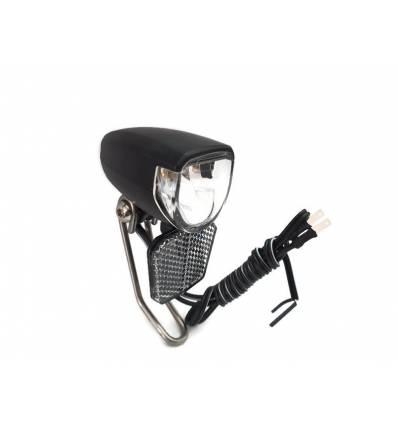 Lampa na dynamo w piaście 30 LUX 1 LED+ wyjście na tył