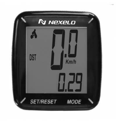 Licznik rowerowy Nexelo C13, czarny