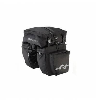 Torba, sakwa rowerowa na bagażnik 2 komory, wzmacniany materiał