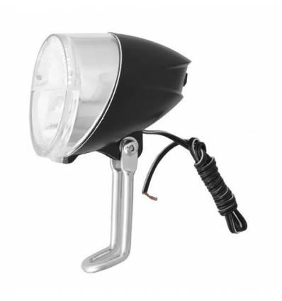 Lampa przednia Nexelo na prądnice, 1 LED, z podtrzymaniem świecenia