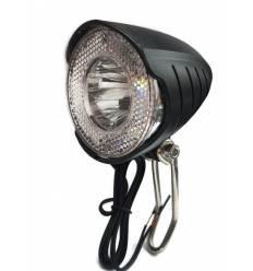 Lampa na dynamo w piaście 1 LED+ wyjście na tył
