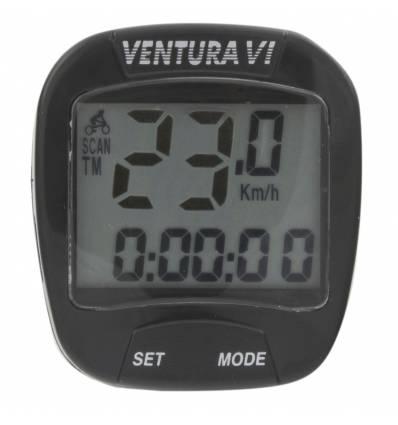 Licznik rowerowy Ventura VI 6 funkcyjny