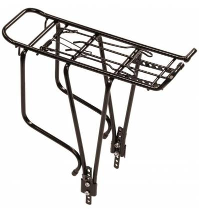 Bagażnik rowerowy Nexelo aluminiowy 26 - 28 '' srebrny