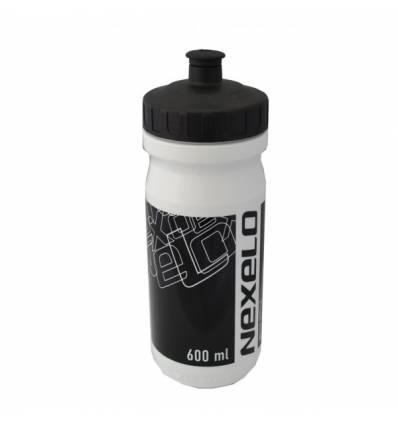 Bidon rowerowy M-Wave 600 ml biały