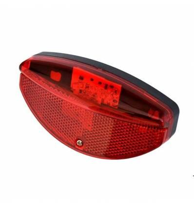 Lampa tylna rowerowa na prądnicę 3 LED