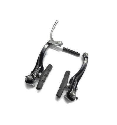 Szczęki hamulcowe V-Brake Artek aluminiowe czarne