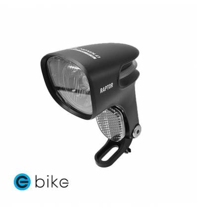 Lampa rowerowa na dynamo w piaście LED Nexelo