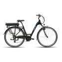 Barton Abel - rower elektryczny 14 Ah, 518 Wh czarny
