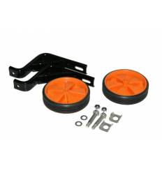 Kółka rowerowe boczne podporowe pomarańczowe 16''